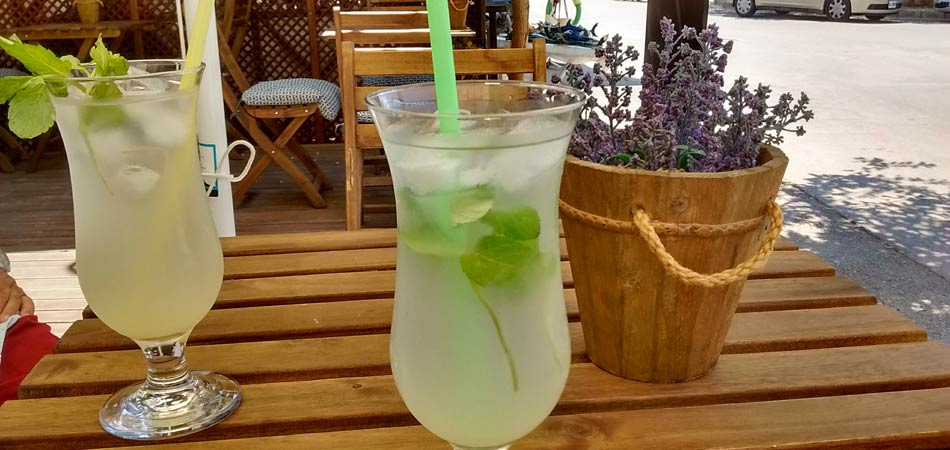 A must-try is their homemade Cyprus mint lemonade.